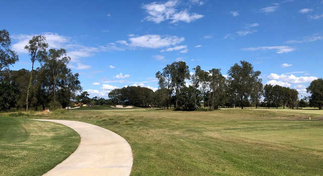 A view of a green at Nudgee Golf Club.