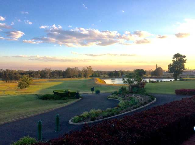 A view from Nudgee Golf Club.