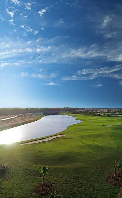 Aerial view from #16 at Esplanade at Azario Lakewood Ranch