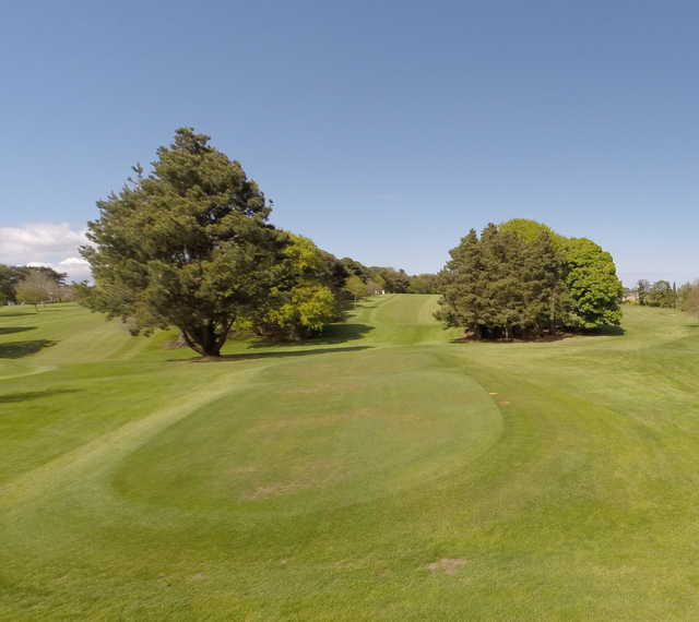 View from a tee at Skerries Golf Club.