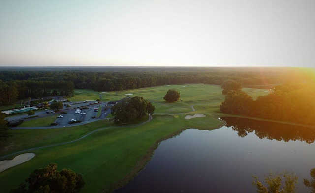 Aerial view from Stone Creek Golf Club.