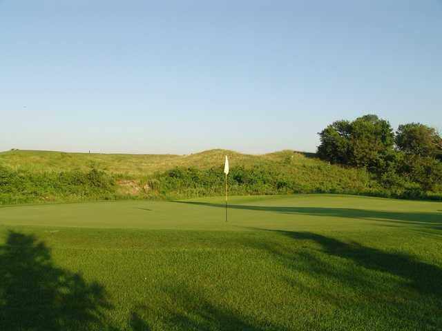 A view of a hole at Otter Creek Golf Course.