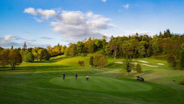 A view from Castlecomer Golf Club.