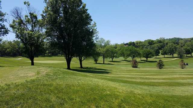 A view from a tee at Lake Valley Country Club.