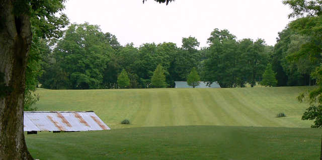 A view of a fairway at Angel Hill Golf Course.