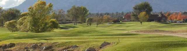 A fall day view from Antelope Hills Golf Course.