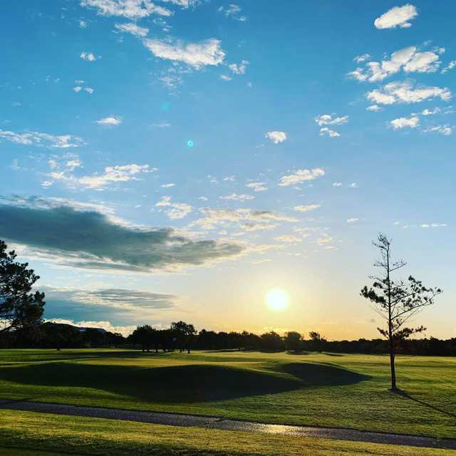 A view from The Greens of Altus Golf Course.