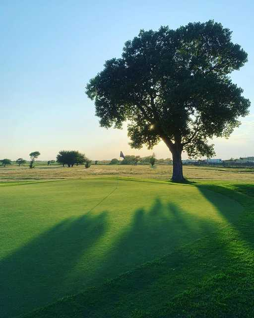 View from a green at The Greens of Altus Golf Course.