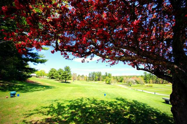 View from a tee at Farmington Country Club.
