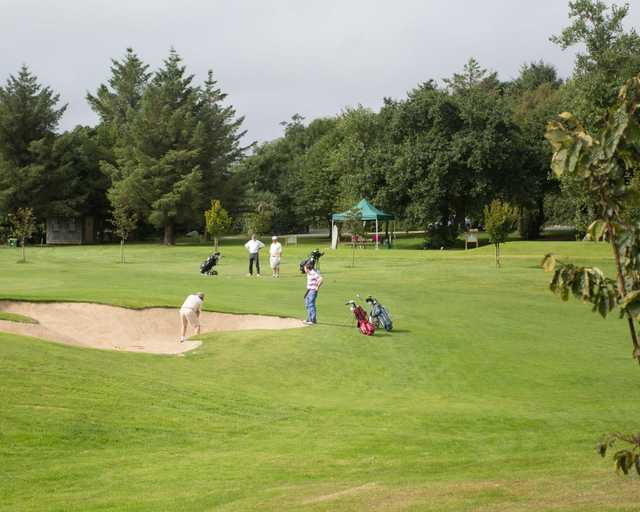 A view from Blainroe Golf Club.