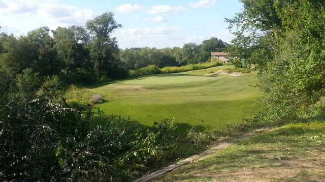 View of a green at Wee-Ma-Tuk Hills Country Club.