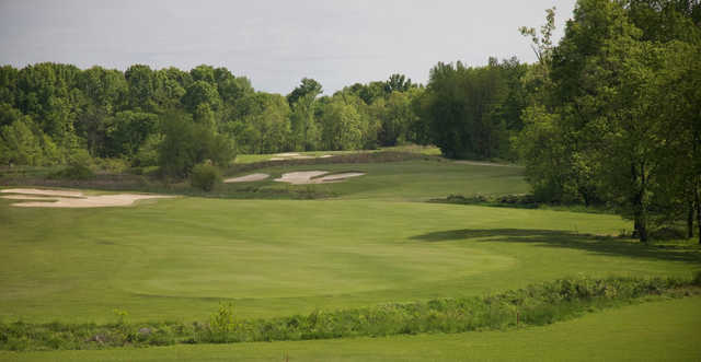 A view from Hermitage Golf Course.