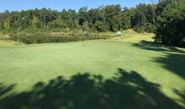 A view of hole #10 from Dogwood's Golf Course At Hugh White State Park.