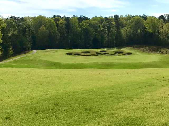 A view of hole #13 from Dogwood's Golf Course At Hugh White State Park.