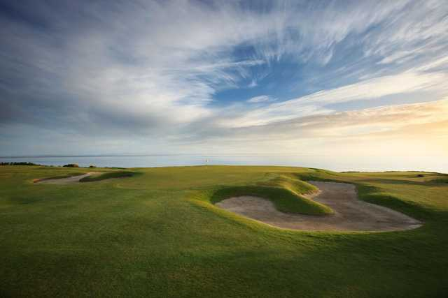 A view of green #15 at The Kittocks Course from Fairmont St. Andrews.