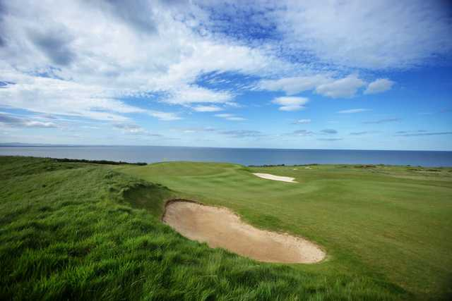 A view of the 5th hole at The Kittocks Course from Fairmont St. Andrews.