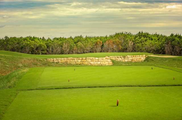 A view from the 15th tee at Kissing Tree Golf Club.