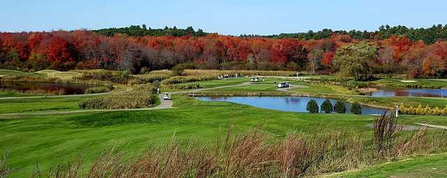 A fall day view from Merrimack Valley Golf Club.