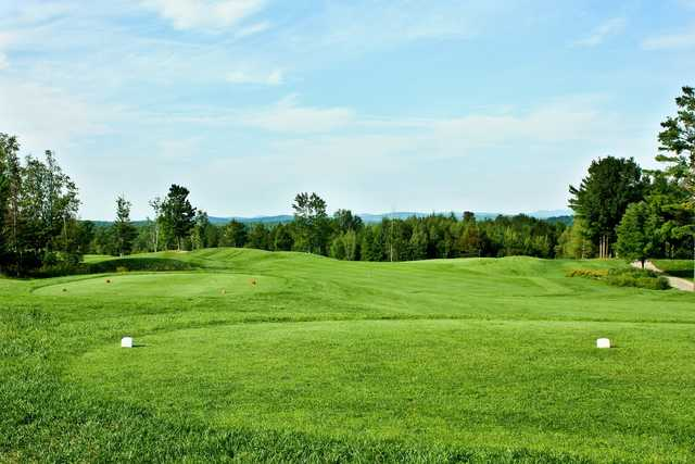 A view from a tee at Ridgewood Country Club.