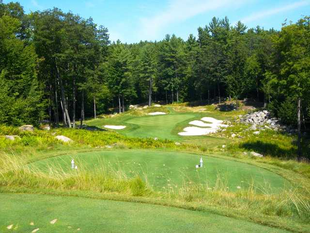 A view from the 15th tee at Lake Winnipesaukee Golf Club.