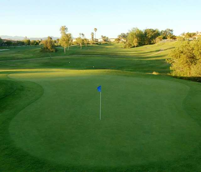A view of hole #13 at Sterling Hills Golf Club.