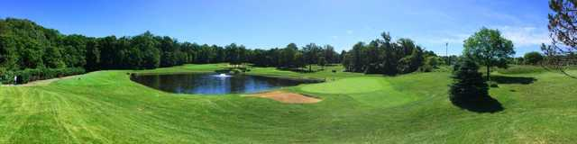 Panoramic view from Oak Marr Golf Complex