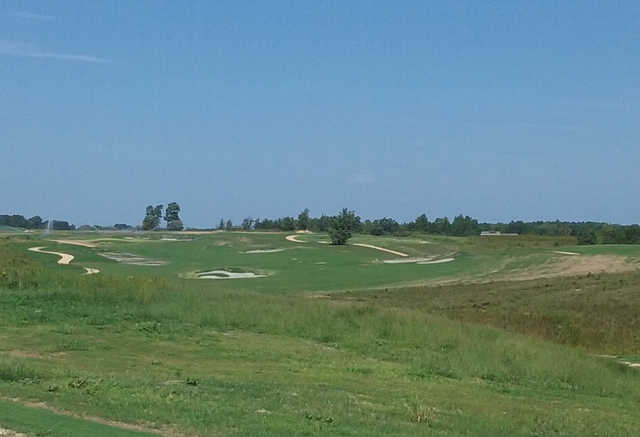 A view of hole #18 from Cutalong at Lake Anna.