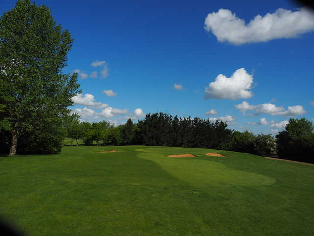 View of the 5th at Colmworth & North Beds Golf Club.