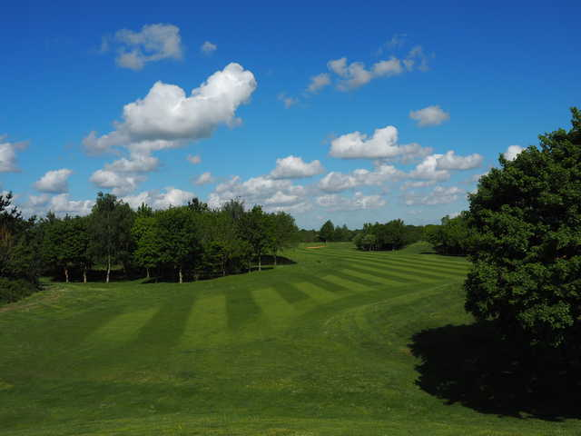 View from the 8th tee at Colmworth & North Beds Golf Club.