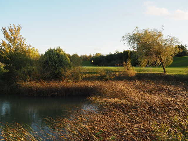 View of the 9th hole at Colmworth & North Beds Golf Club.