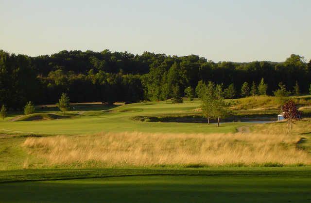 A view of a green at Wildwinds Golf Links.