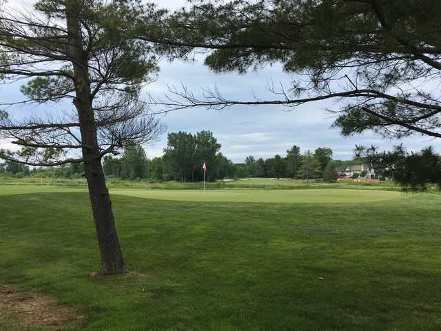 A view of a hole at Oak Bay Golf Course.