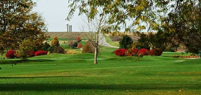 A view from Mendota Golf Course.