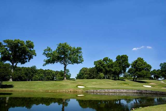 A view of hole #2 at Old Hickory Country Club.