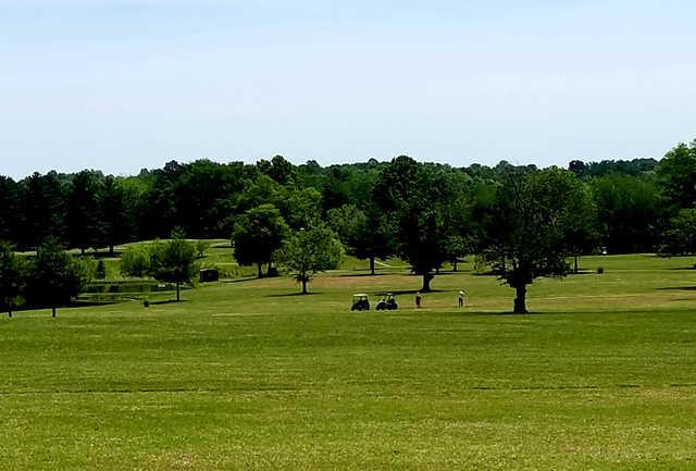 A view from Dogwood Hills Municipal Golf Course.