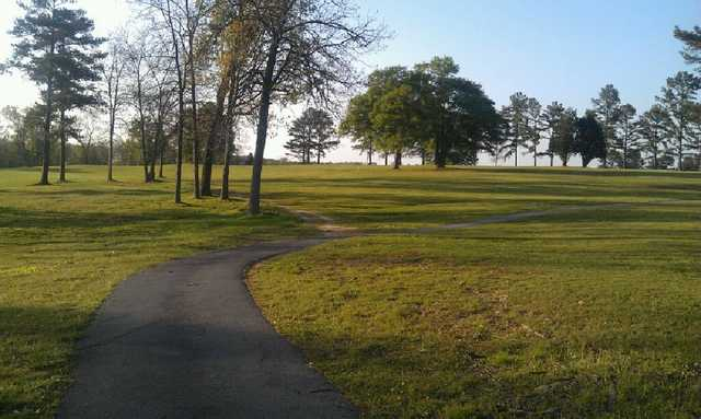 A view of hole #1 at Rainsville Golf & Country Club (Marty Martin).