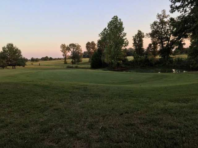 A view of the 12th green at Silo's Country Club.