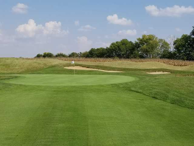 A view of a hole at The Legends Golf Club.