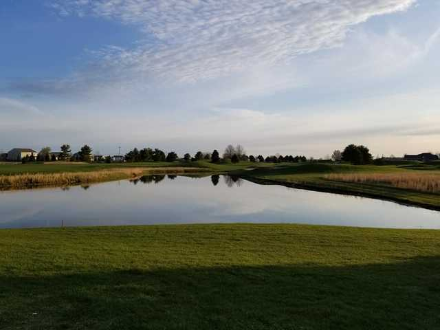 A view over the water from The Legends Golf Club.