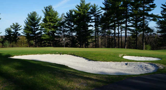 A view of a hole at Country Club of the Poconos Municipal Golf Course.