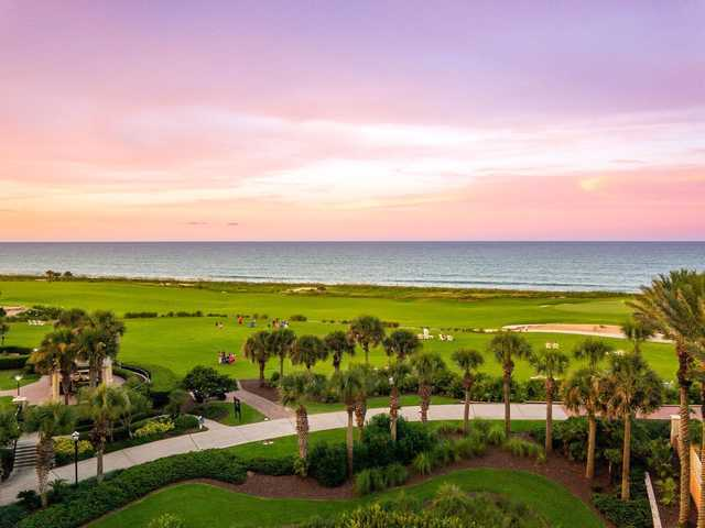 A view from The Ocean Course at Hammock Beach Resort.