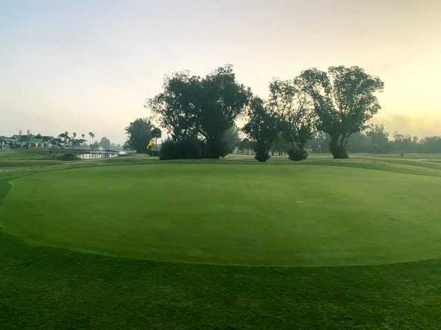 A view of a green at Sebring International Golf Resort.