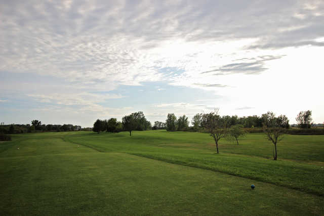 View from a tee box at Country Drive Golf Course.