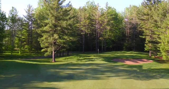 A view of green #12 at Sawmill Golf Club.