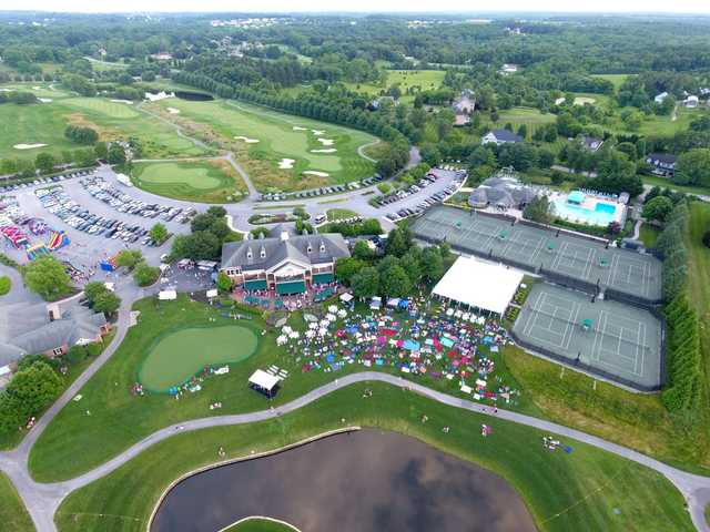 Aerial view from Cattail Creek Country Club.