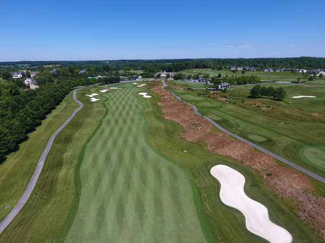 View of the 9th fairway at Cattail Creek Country Club.