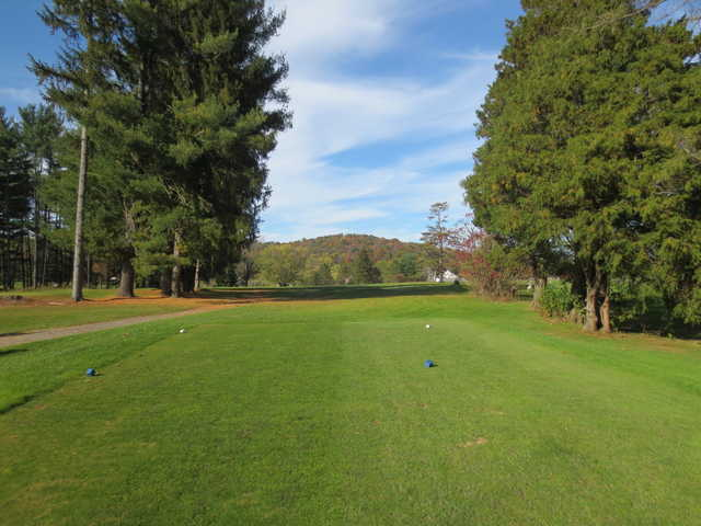 View from a tee at Clearfield-Curwensville Country Club.
