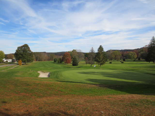 View from a green at Clearfield-Curwensville Country Club.