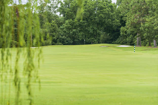 View of a green at Pine Valley Country Club.