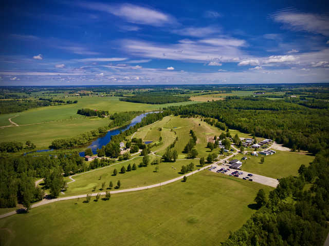 Aerial view from Deer Run Golf Course